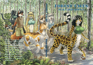Cover art for Forest Tales